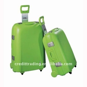 pp case hard plastic luggage trolley don't click here go to see more supprise discount from www.cnluggage.com