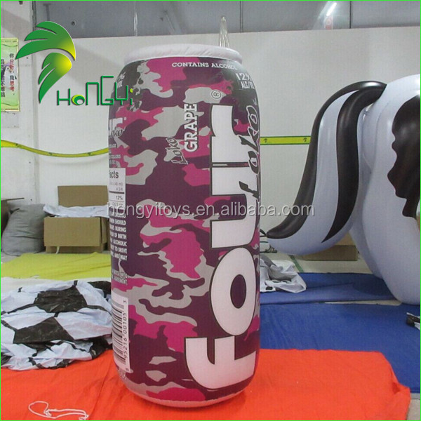 Outdoor advertising balloon giant inflatable beer can