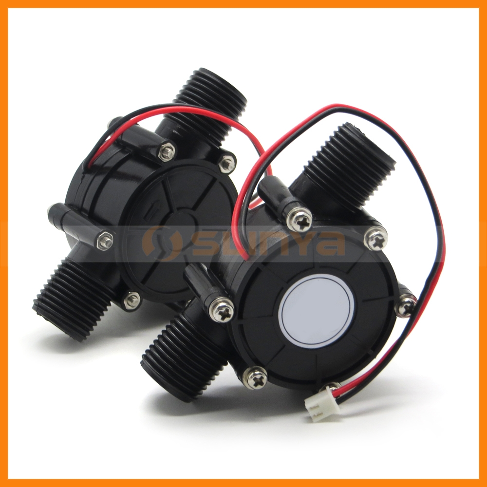 Dc 12v generator 10w micro hydro water turbine home depot for Small dc motor home depot