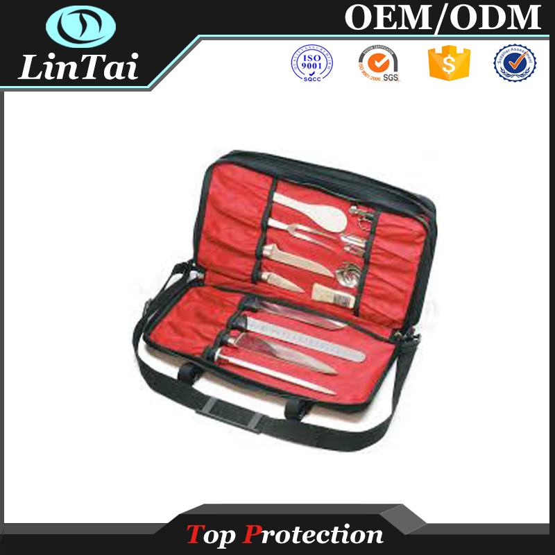 Factory price knife sets carrying display case