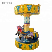 MIYING amusement park rides 3 players merry go round in south africa for sale