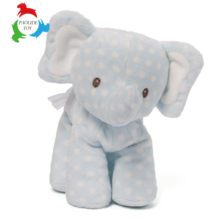 Newborn Babies Super Soft Plush Toys Cartoon Long Nose elephant Stuffed Plush Toys