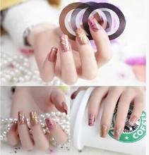 1 pc Nail stickers decoração de unhas prego DIY jóias ouro e jóias de prata em combinação com unhas adesivas