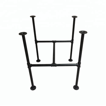 Manufacturer Industrial Style Powder Coating Water Pipe Table Frame ...