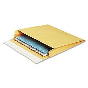 """Wholesale CASE of 2 - Quality Park Open Side Self-Seal Expansion Mailers-Open-Side Mailers, Plain, 40Lb, 10""""x15""""x2"""", 100/CT, Kraft"""