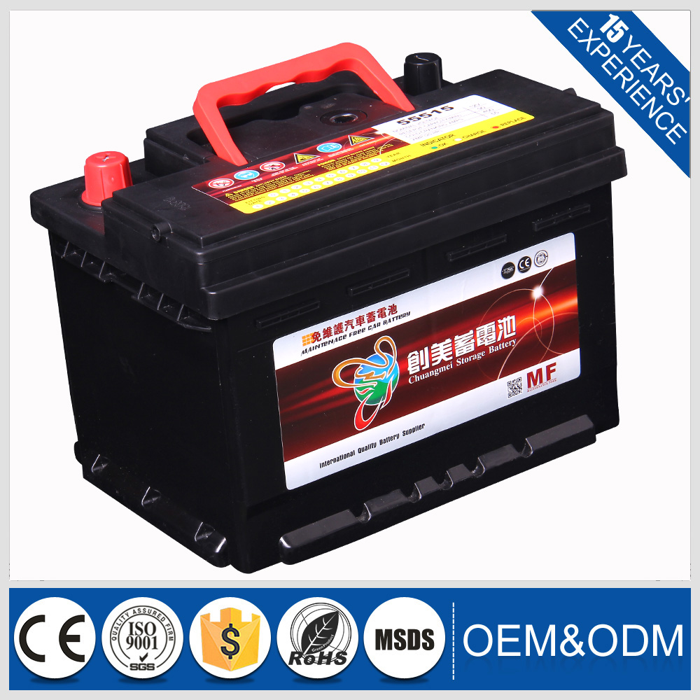 2016 used car batteries for sale 12V battery from manufacturer