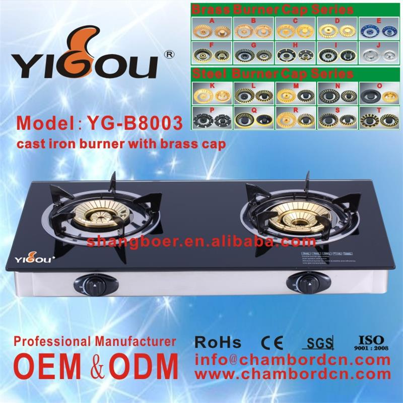 YG-B8003 home appliance gas hob kitchen range/cooking range