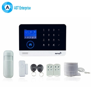 WIFI Smart Home Security Wireless GSM Alarm System with APP Push/SMS/Voice Monitoring