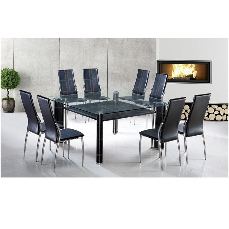4 Seaters Top Seater Clear Square Glass Dining Tables Buy 4 Seaters Glass Dining Tables Square Glass Dining Tables Glass Dining Tables Product On Alibaba Com