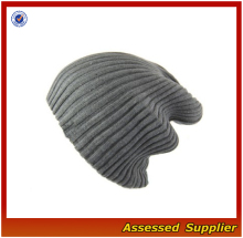 Hx439 knit stocking hat / knit hat para venda