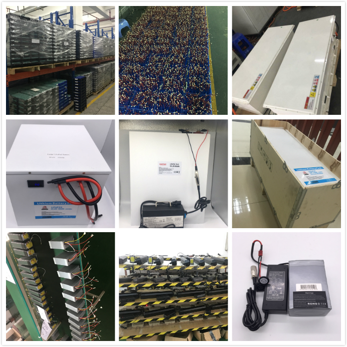 long cycle life 48v 700Ah 26650 solar energy storage lifepo4 battery