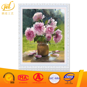 New arrive handmade resin diy diamond painting kit flower in bottle outdoor