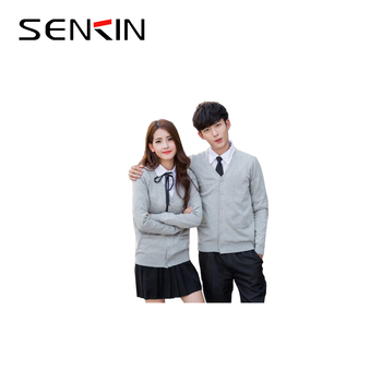 personalized juniors sweater design Japanese school uniform suppliers