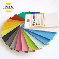JINBAO high quality pvc foam sheets 4x8ft 1220x2440mm pvc forex sheets for kitchen cabinets