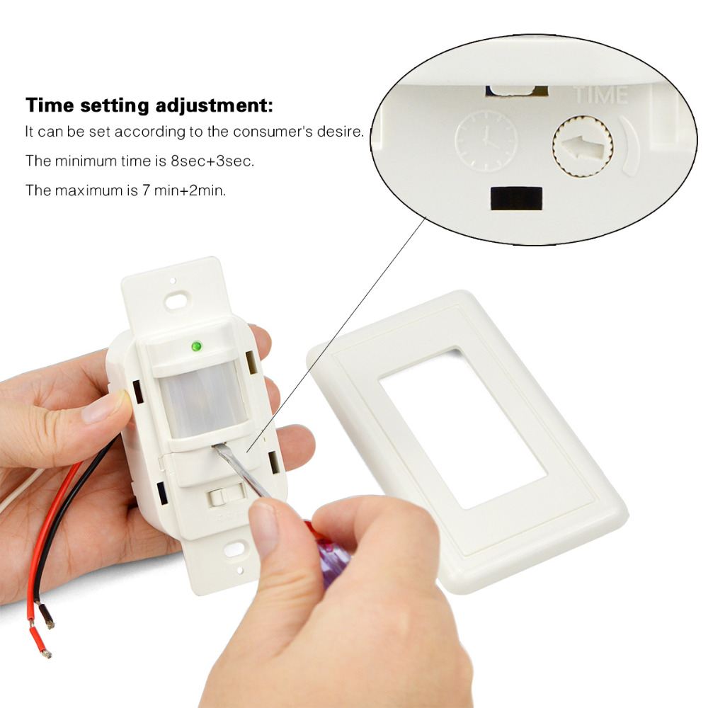 China Motion Sensor Light Switch Have A 110v To Replace Regular Manufacturers And Suppliers On