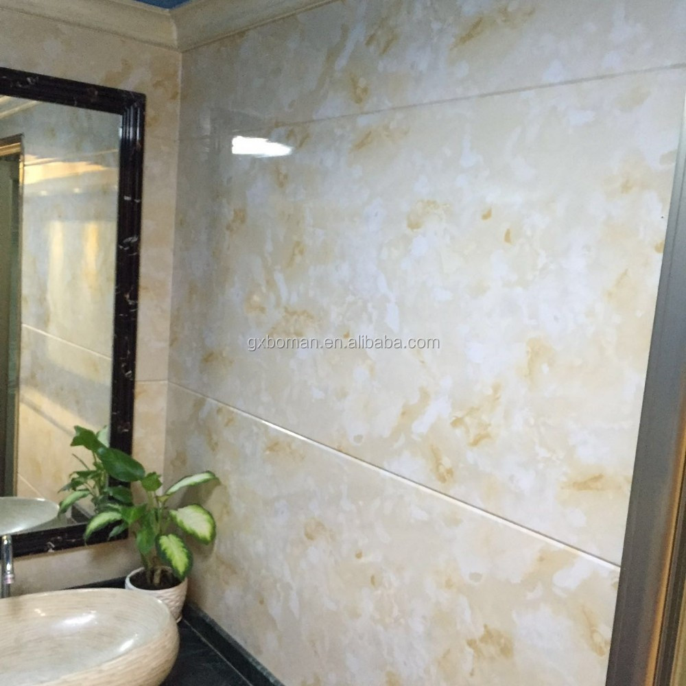 Waterproof plastic wall covering for bathrooms - Waterproof Bathroom Wall Panels Waterproof Bathroom Wall Panels Suppliers And Manufacturers At Alibaba Com