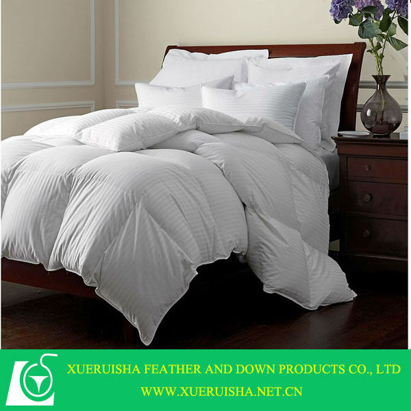 home or hotel filling 80% white goose down duvet cover with zipper