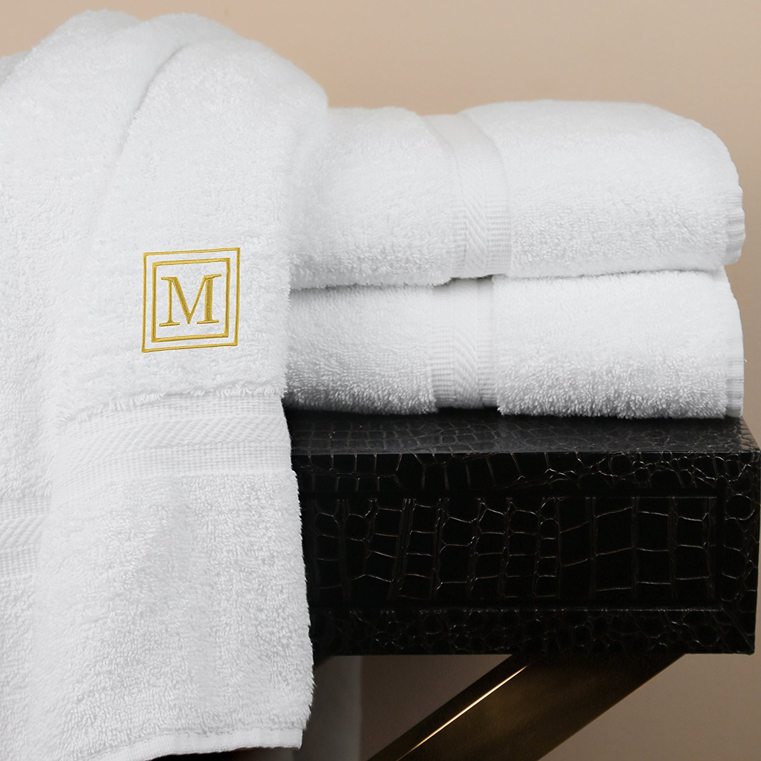 Luxor Linens - Oversize Bath Towel Set - Solano Collection 100% Egyptian  Cotton Bath Towels - Fully Customized Luxury Bath Towel Sets for Home 3febc3a06