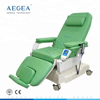 Linak motor AG-XD206B one step moulding ABS bottom cover blood transfusion chair