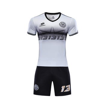 3a2cb8470 Wholesale Blank New Design Soccer Jersey Sublimation Printing Custom Black  White Soccer Uniforms Dri Fit Football