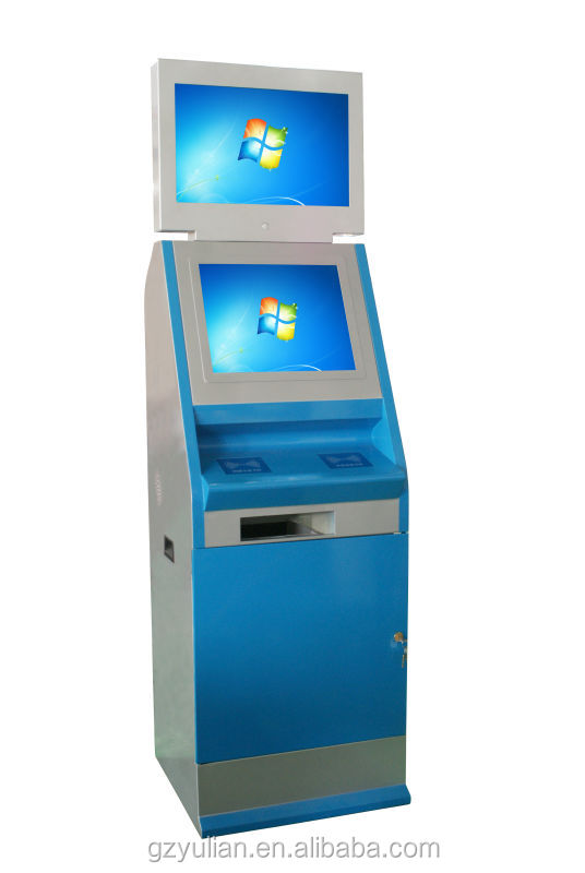 "15"",17"",19"" Advertising Touch Screen Kiosk with A4 Printer/ Touch Screen Photo Booth"
