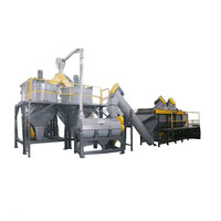 Plastic PET bottle scrap recycle washing machine/PET flakes production line