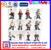 resin personalized musical christmas decoration figurines