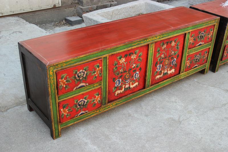 Chinese Antieke Tv Kast.Chinese Antieke Reproductie Meubelen Tibetaanse Tv Kast Antieke