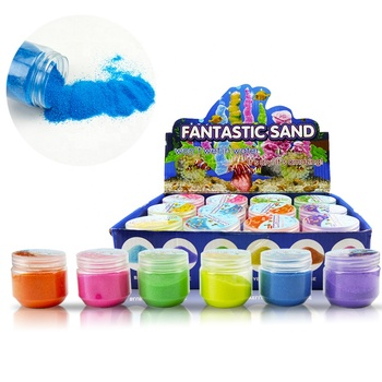 diy the magic sand kit for kids science experiment