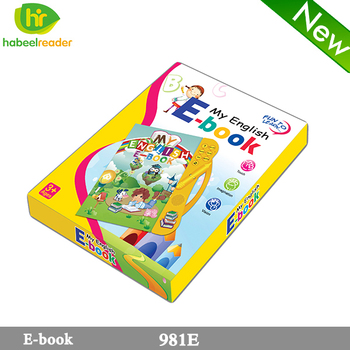 Hot selling Learning English alphabet e-books children's educational electronic book E book ,learning English talking book