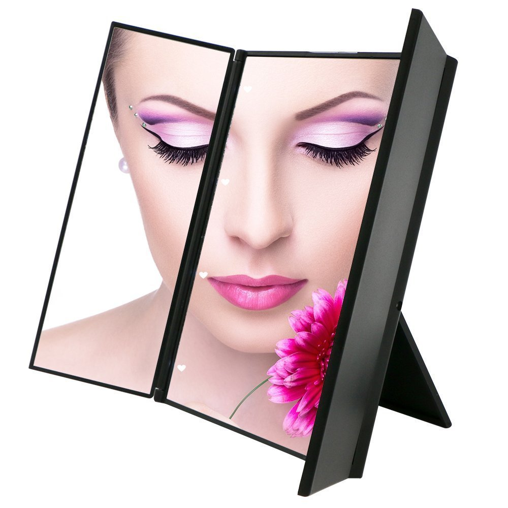 Buy Travel Mirror Durovin Tri Fold Lighted Led Mirror Lighted