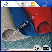 eco-friendly Polyester burning resistant green carpet