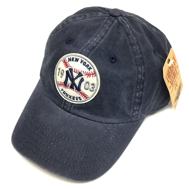 9e7cc0b705882c Get Quotations · American Needle MLB New York Yankees Team Hardball III Retro  Snapback Cap