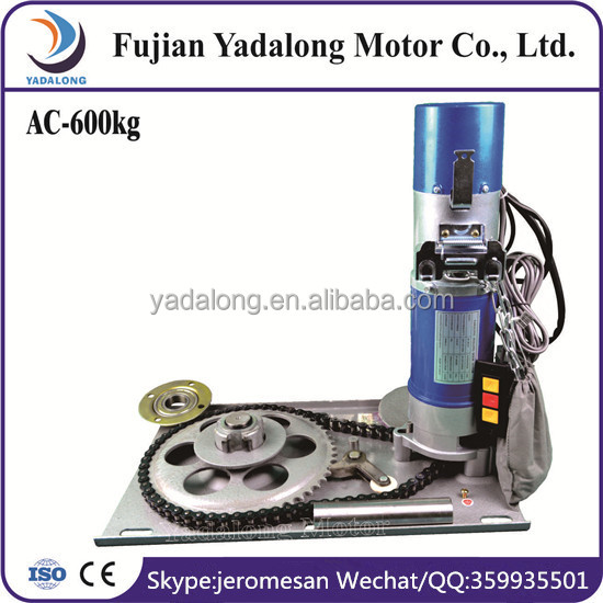 Dynamic Enhanced AC DC 600KG Rolling Door Motor Made In China