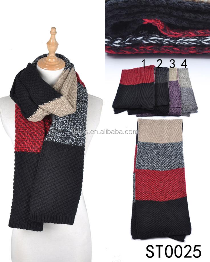 Venta al por mayor bufanda larga tejida-Compre online los mejores ...