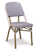 Per tutte le stagioni Stile Francese Bistro Chair Sedie <span class=keywords><strong>Mobili</strong></span> Ristorante Caffetteria