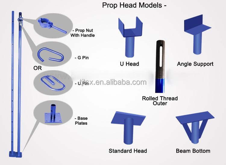 Adjustable Steel Metal Support Post For Sale