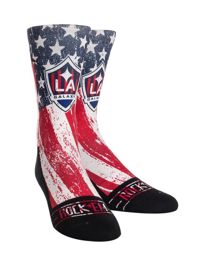 MLS Los Angeles Galaxy Custom Athletic Crew Socks, Youth, Club/Country