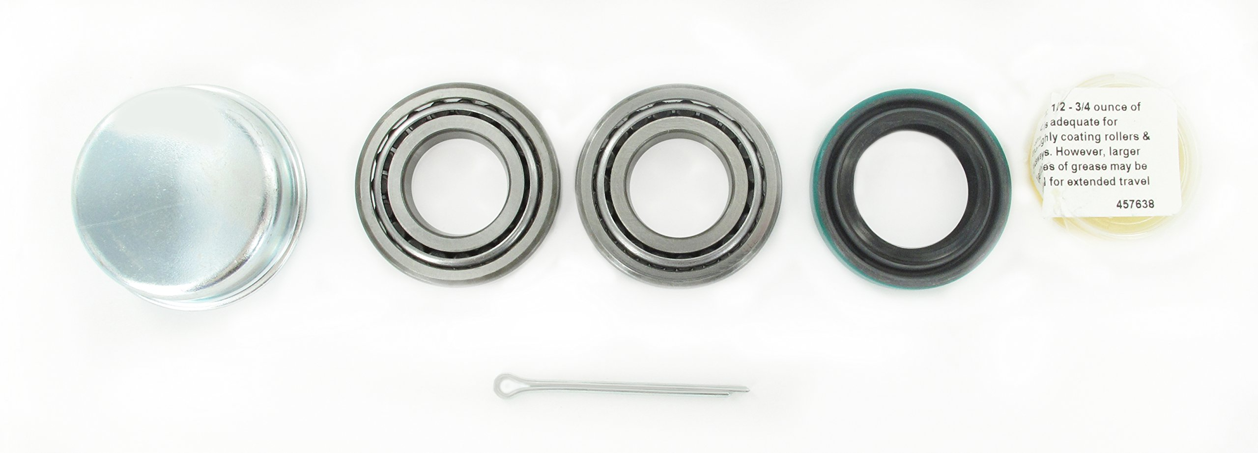 SKF 21 Recreational Trailer Seal and Bearing Kit (1-Inch Axle)
