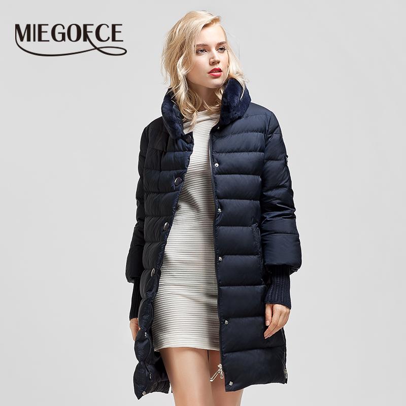 miegofce Зимняя куртка женщин женские зимние куртки и Пальто зимнее пальто  женщин Зимняя куртка женская теплая куртка пуховик женский Одежда  c6f2bd15c60d9