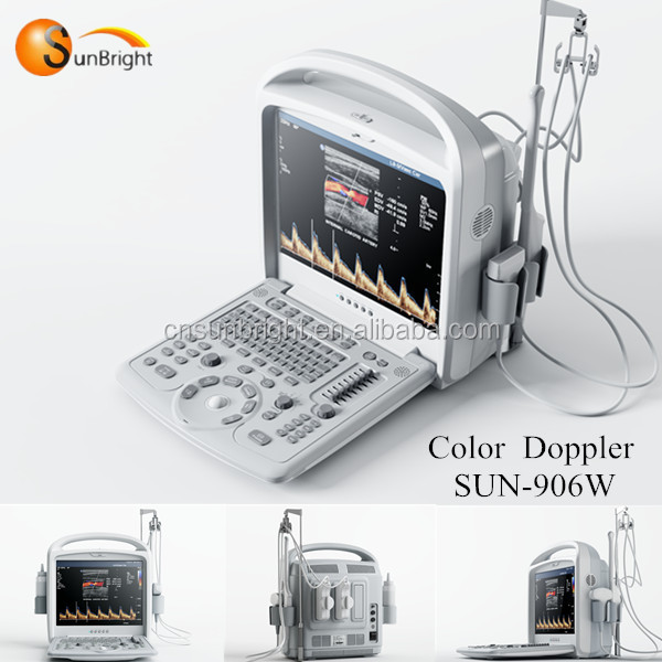 Laptop portable color Ultrasound Scanner Machine (portable color doppler ultrasonic system)