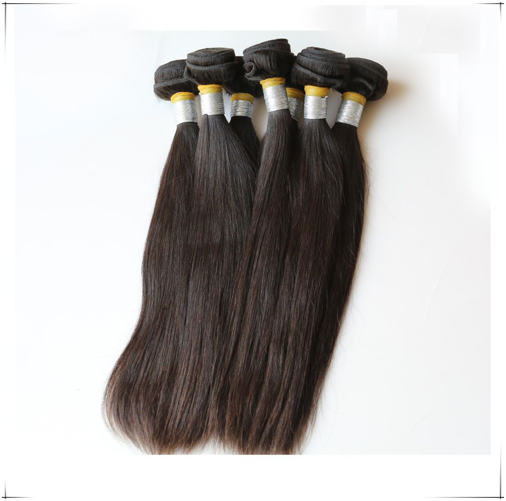 Wholesale Unprocessed Raw Brazilian Hair 7a Straight 100% Human Hair Extension No tangle No Shedding Cuticle Aligned Hair