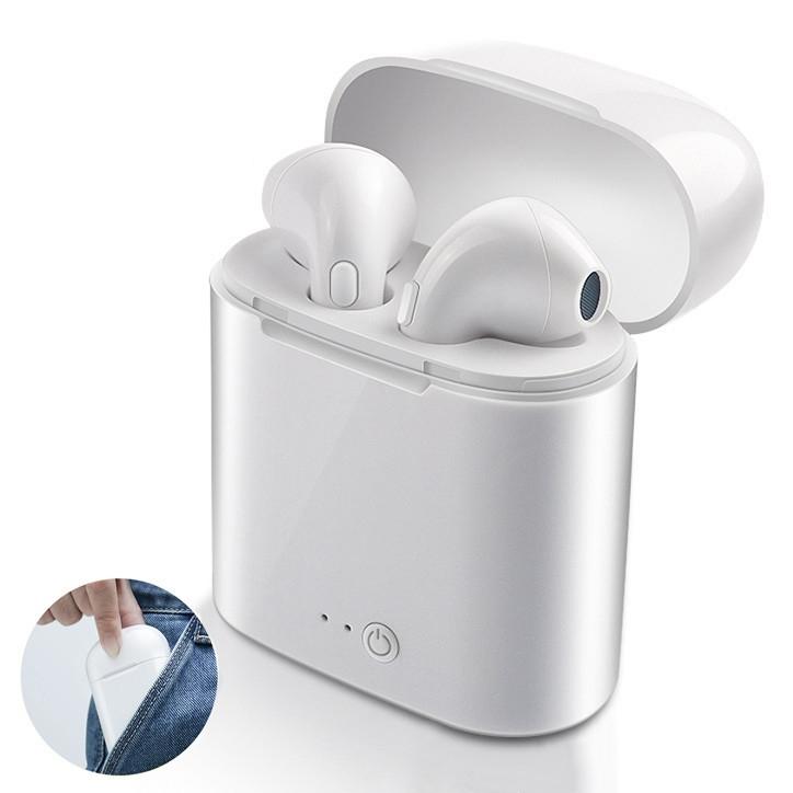 i7s tws earphone Mini TWS In Ear Bluetooth Earphone wireless Headphone hifi Twins True Wireless Earbuds, Black;white;gold;rose gold;red