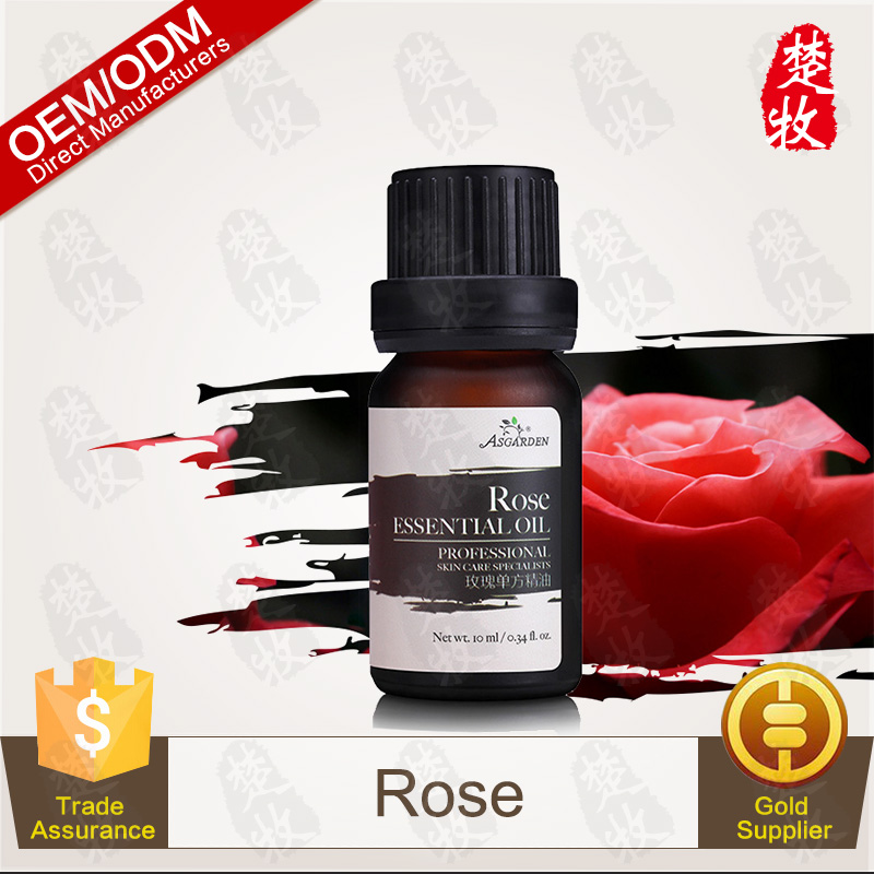 Flower Raw Material Rose Essential Oil For Aromatherapy