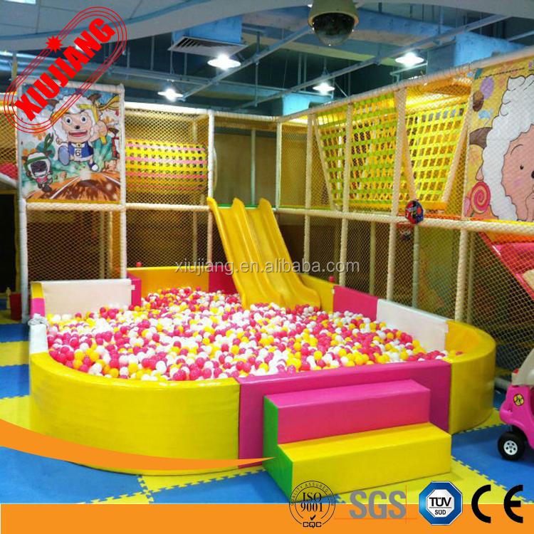 enfants soft play balle en mousse piscine avec toboggan aire de jeu id de produit 60364447287. Black Bedroom Furniture Sets. Home Design Ideas