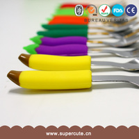 Silicone Child Japan Market Stainless Steel Cutlery Set - Table Knife Fork Spoon Teaspoon