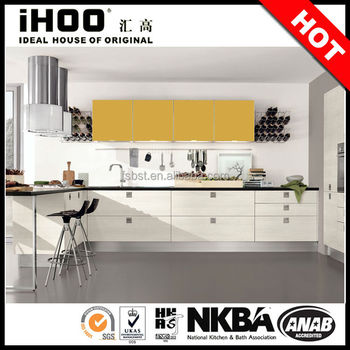 ak206 yellow kitchen cabinet manufacturers ratings china cheap pantry cupboards - buy yellow
