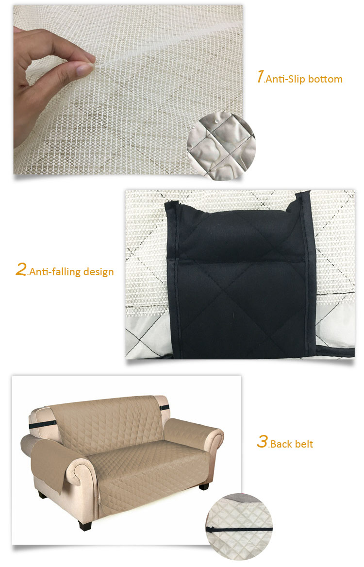 2018 Popular Waterproof Sofa Couch Cover for kits
