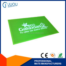 Anti slip custom soft pvc door mat