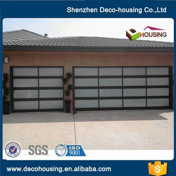Hot Sale 10x10 Glass Garage Door